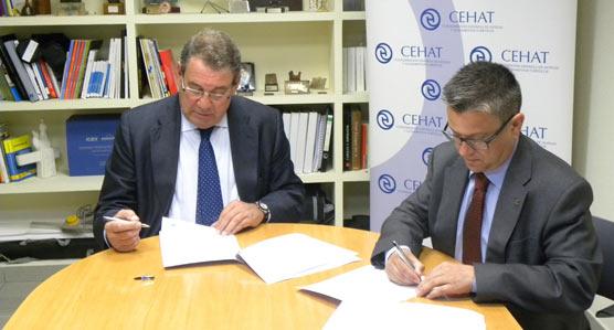 CEHAT renueva el acuerdo de colaboración con Grupo Cosentino reafirmando su compromiso con el Sector Hotelero español