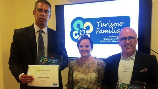 Sello de Turismo Familiar para la marca del grupo SERHS Vilars Rurals, una forma de turismo rural 'babyfriendly'