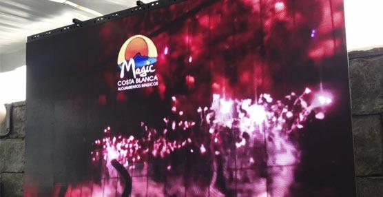 La cadena Magic Costa Blanca instalará Wi-Fi y pantallas LED en sus hoteles a lo largo del verano