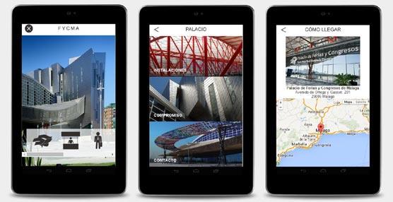 El Palacio de Ferias y Congresos de Málaga desarrolla una aplicación móvil con información de sus espacios y eventos