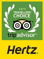 Hertz, premiada por los usuarios de la 'web' TripAdvisor.