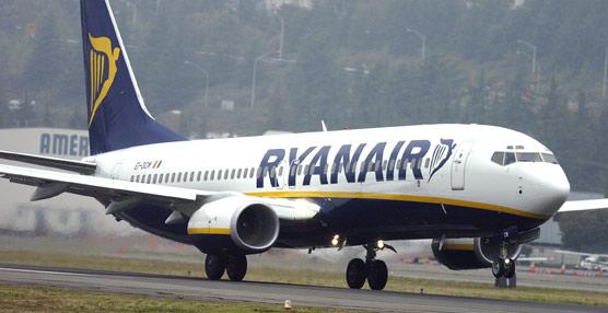 Ryanair gana 245 millones de euros en el primer trimestre de su ejercicio fiscal, un 25% más que en 2014