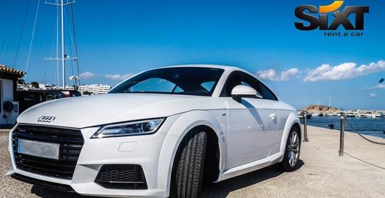 El nuevo Audi TT se incorpora a la flota de vehículos premium de Sixt