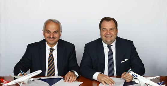 Turkish Airlines y LOT Polish Airlines acercan posturas para una futura alianza empresarial