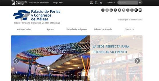 El Palacio de Congresos de Málaga crea una nueva 'web' para mostrar su oferta de equipamiento y servicios a los organizadores