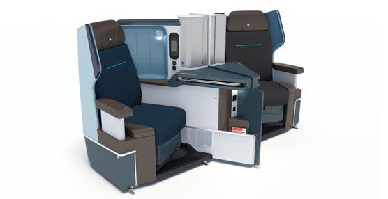 KLM operará con el nuevo B787-9 Dreamliner a finales de año con las mejoradas clases de viajes