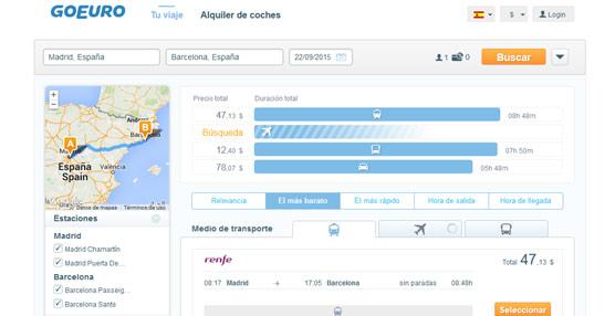 GoEuro amplía su cobertura europea con su llegada a Suiza, que se convierte octavo mercado en el que opera