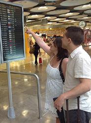 El avión supera por segundo mes consecutivo al AVE-Larga Distancia y registra un aumento de pasajeros del 6%