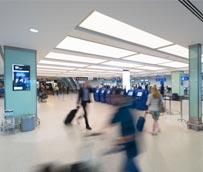 Los pasajeros del London City Airport prefieren el 'check-in' electrónico frente al mostrador de facturación del aeropuerto