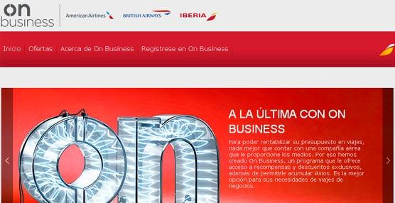 Iberia lanza un programa destinado a las pymes que permite a las compañías gestionar sus gastos