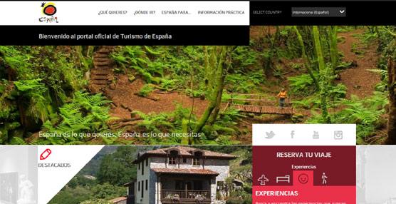 Cerca de 500 empresas del Sector distribuyen sus experiencias turísticas a través del 'portal' Spain.info