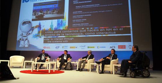 Empresarios hoteleros debaten junto a la ONCE los desafíos del turismo accesible