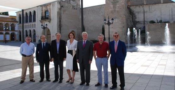 Vicente Serrano asegura que Palma del Río reúne todas las condiciones para ser un destino de reuniones y eventos