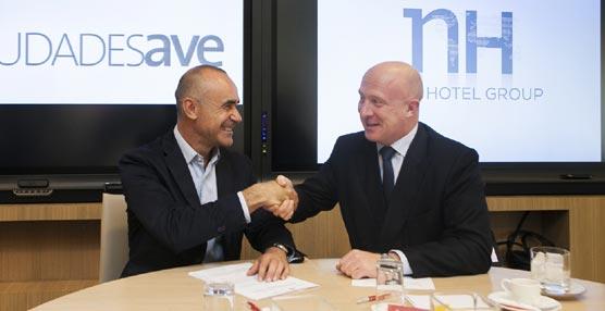 NH renueva su convenio con la Red de Ciudades AVE para seguir potenciando estos destinos como sede de negocios
