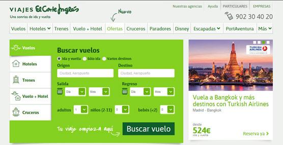Viajes El Corte Inglés lanza soluciones para simplificar las reservas y optimizar el trabajo de los 'travel managers'