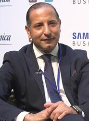 El presidente de Ágora Next, Kemel Kharbachi.