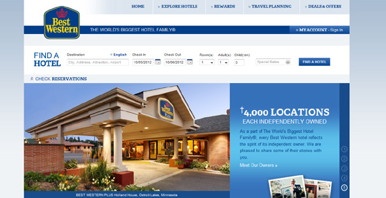 La cadena hotelera Best Western renueva su imagen corporativa