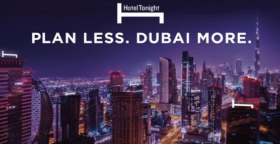 La aplicación de reservas de última hora Hotel Tonight llega a Dubai