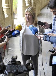 La alcaldesa de Jerez de la Frontera, Mamen Sánchez.