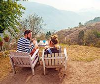 Los alojamientos al aire libre consiguen un 23% más de reservas 'online' en verano