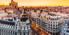 El número de turistas en Madrid aumentó un 3,1% en febrero respecto al pasado año