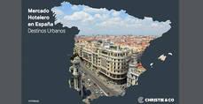 Christie & Co publica su informe 'Mercado Hotelero en España: destinos urbanos'