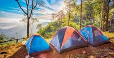 Las reservas en alojamientos al aire libre crecen un 54% respecto al verano pasado