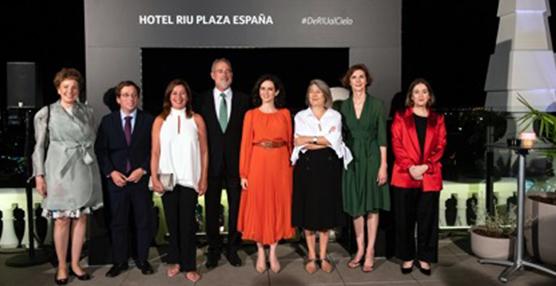 Riu Plaza España abre sus puertas y celebra su fiesta de inauguración