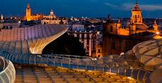 Los hoteles de Sevilla y Granada registran cerca del 80% de ocupación en el puente