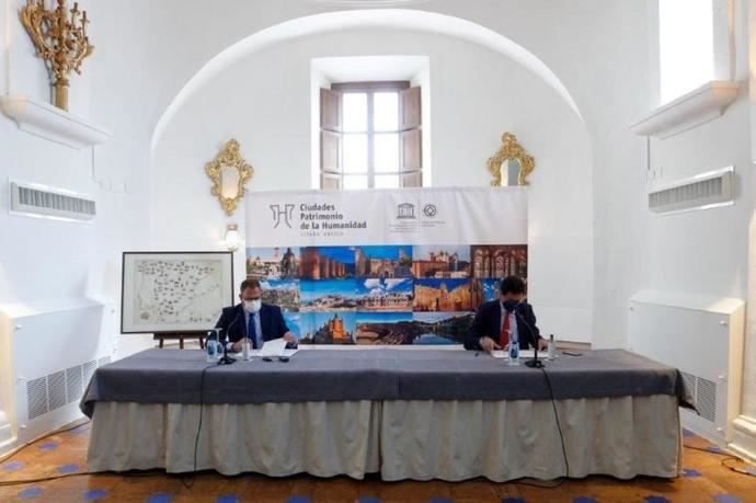 Paradores y Ciudades Patrimonio firman una promoción conjunta