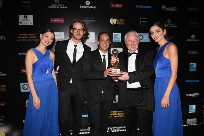 Roiback premiado por tercer año en los World Travel Awards
