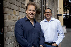 Sankar Narayan y Mike Ford de Siteminder.
