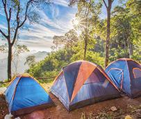 La ocupación media en campings alcanza el 80% en agosto
