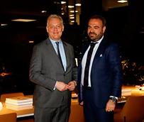 El Embajador del Reino Unido se reúne en Palma con Gabriel Escarrer