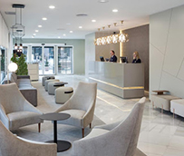 Las zonas comunes de los hoteles abren hasta el 50% de su aforo en la Fase 3