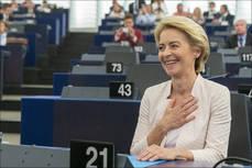 La presidenta de la Comisión Europea, Ursula von der Leyen. © Copyright European