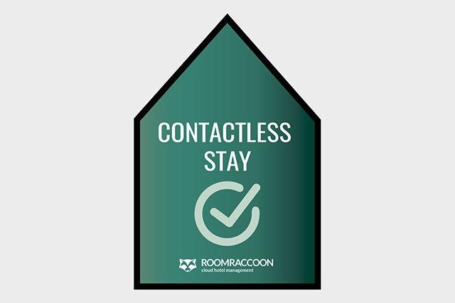 RoomRaccoon crea el distintivo 'Contactless Stay'