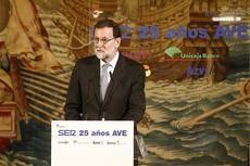 Rajoy: 'El AVE es una de las obras más exitosas de España'