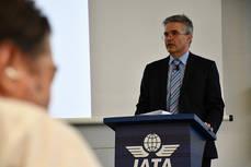 El vicepresidente senior de distribución de IATA, Aleksander Popovich.