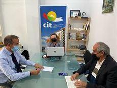 Reunión entre el CIT y Ashotel.