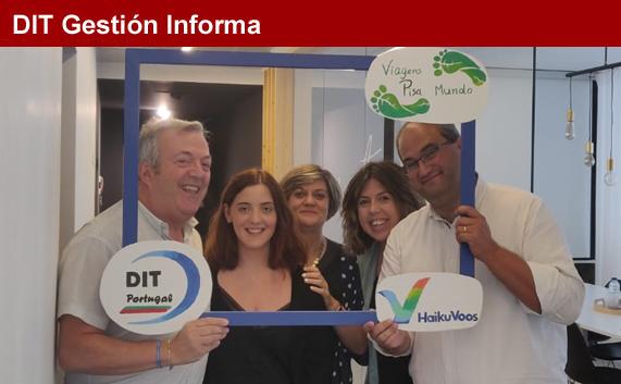 DIT Gestión mantiene reuniones en Portugal