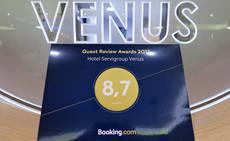 Booking premio Venus.
