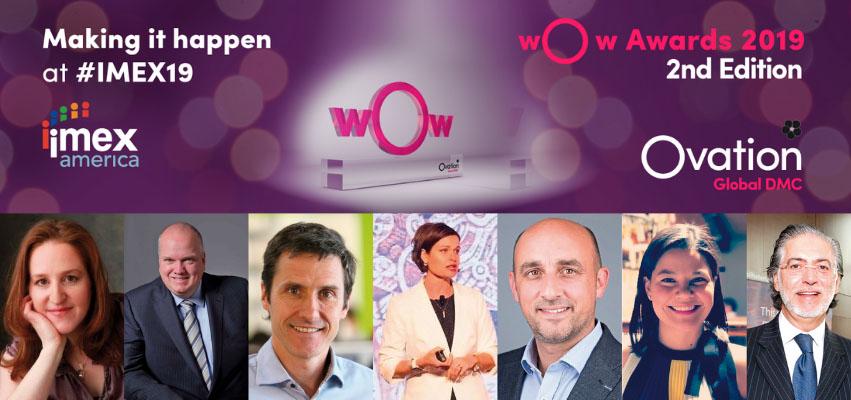 La industria MICE celebra los Ovation wOw Awards 2019