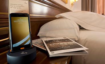 Handy llega al Hotel Miguel Angel by BlueBay