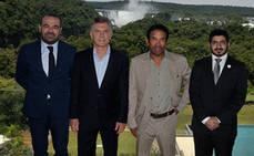 Escarrer y Macri inauguran el Gran Meliá Iguazú