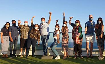 MP Hotels acoge en el Lemon & Soul Cactus Garden a la OMT