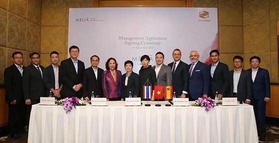 Meliá celebra el 20º aniversario de Meliá Hanoi renovando su gestión