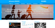 Página web Edreams Odigeo.