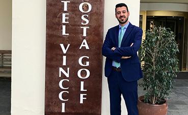 Enrique Martín-Aragón, nuevo director de Vincci Costa Golf