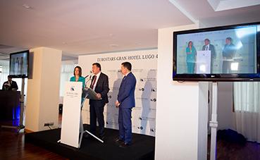 El Eurostars Gran Hotel Lugo reabre tras una reforma